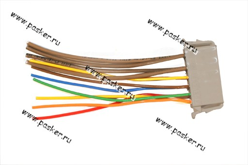 Колодка соединит модуля управления светотехникой 1118 Калина, 2170 Priora, 2190 Granta - автозапчасти в...