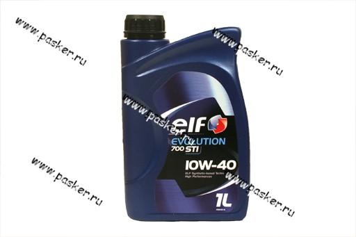 Масло ELF EVOLUTION 700 STI 10W40 API CF A3/B3/B4 1л п/с