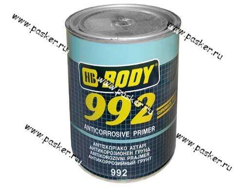 Грунтовка Body 992 1л коричневая