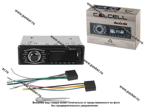 Автомагнитола CALCELL USB/microSD/AUX 4х35Вт CAR-445U