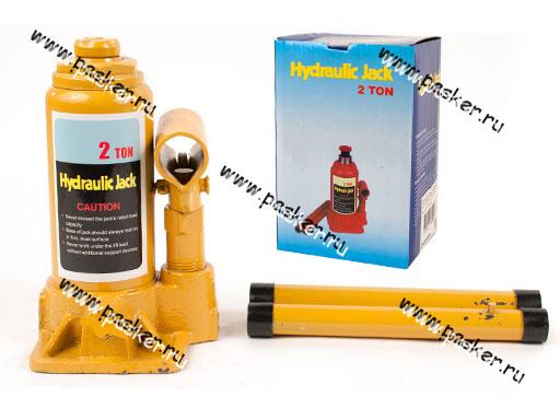 Домкрат гидравлический  2т бутылочный 148-278мм