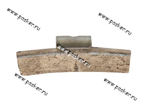 Грузик балансировочный 35гр Clipper для литого диска со скобой 0335