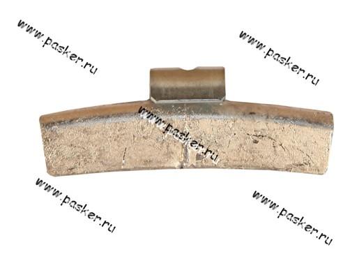 Грузик балансировочный 40гр Clipper для литого диска со скобой 0340