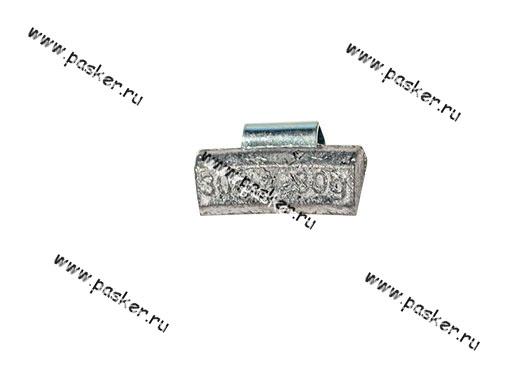 Грузик балансировочный 30гр NORM для литого диска со скобой