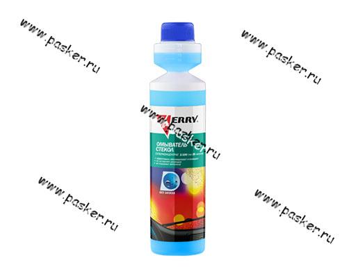 Жидкость стеклоомывающая Kerry KR-336 270мл концентрат 1:100 без запаха