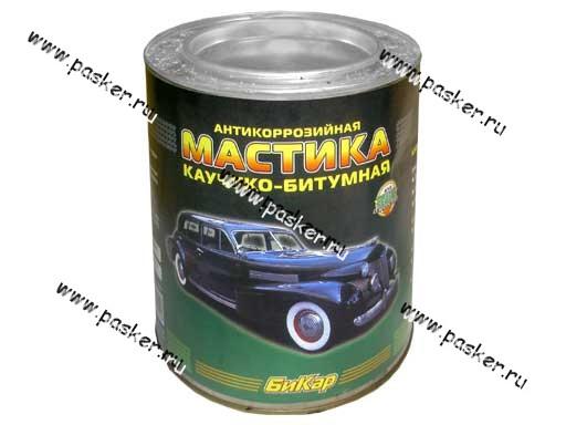 Антикоррозийная Мастика Бикар 3,0л каучуко-битумная