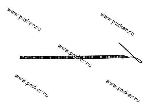 Лента светодиодная 12В 5050 SMD 2.4W IP65 MTF синий 30 см
