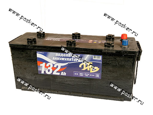 Аккумулятор Подольские Аккумуляторы 132Ач EN880 513х189х213