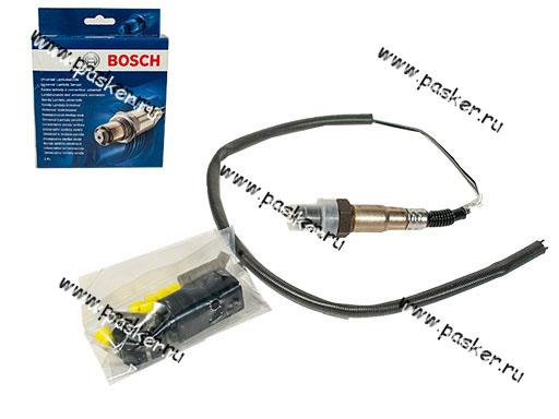 Датчик кислорода универсальный 4-х контактный BOSCH 602
