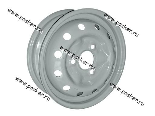 Диск колесный 1111,1113 ОКА АвтоВАЗ 12/4J/3*98/ET40/d58.6 черный грунт+серебристое покрытие