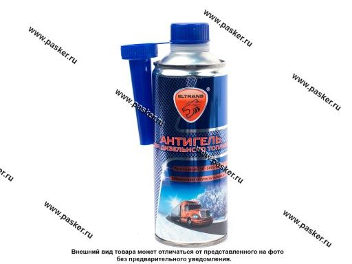 Присадка Антигель Diesel ЭЛТРАНС 500мл на 250-500л