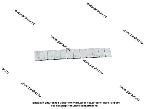 Грузик балансировочный самоклеящийся 2,5гр 12шт NORM цинк 100шт