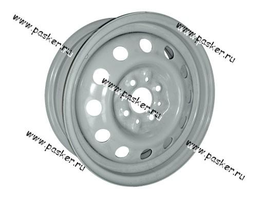 Диск колесный 2108-2112,2170 Priora, АвтоВАЗ 14/5J/4*98/ЕТ35/d58.6 черный грунт+серебристое покрытие