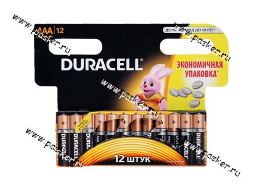 Батарейка DURACELL LR03 ААА BL-12 BASIC