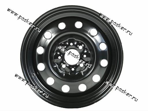 Диск колесный 2170,2190 АвтоВАЗ 14H2/5.5J/4*98/ЕТ35/d58.6 черный грунт