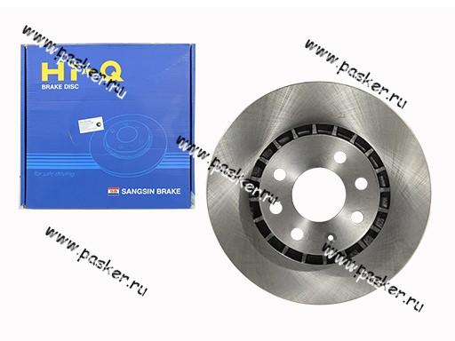 Диск тормозной Daewoo Nexia R14 Chevrolet Lanos R14 Sangsin SD3003