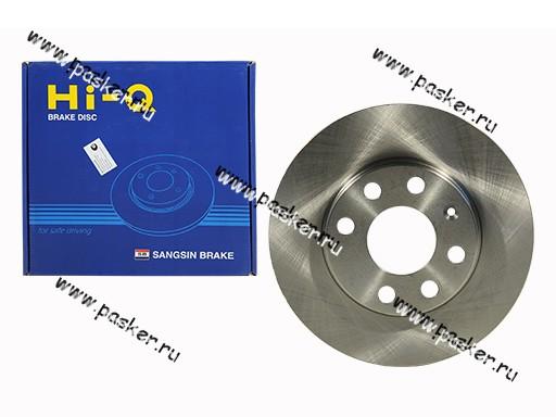 Диск тормозной Daewoo Nexia SOHC Chevrolet Lanos Sangsin SD3004