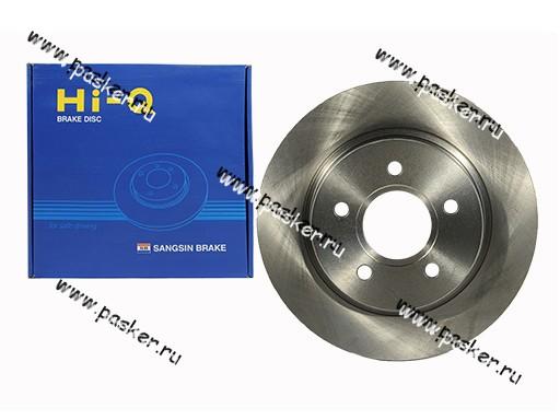 Диск тормозной Ford Focus 2 Sangsin SD5303 задний