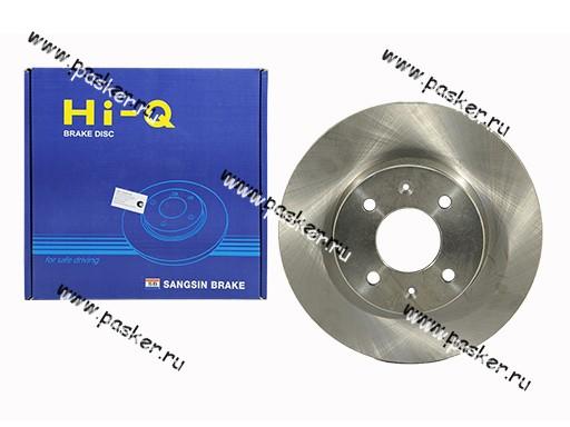 Диск тормозной Hyundai Getz Sangsin SD1021 передний