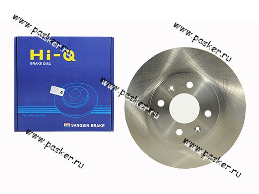 Диск тормозной Hyundai Solaris KIA Rio 11- Sangsin SD2039 передний