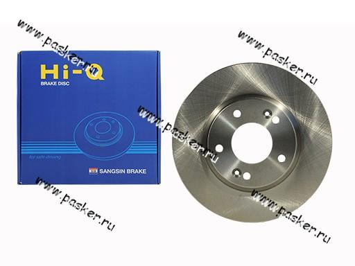 Диск тормозной Kia Ceed -12 Soul Venga Hyundai I30 Sangsin SD1051 передний