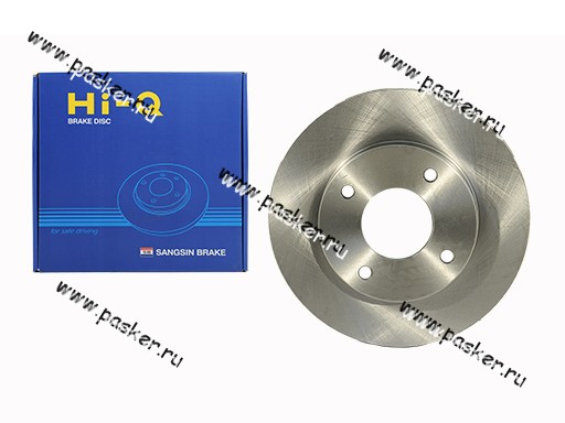 Диск тормозной Nissan Almera Classic Sangsin SD3027 передний