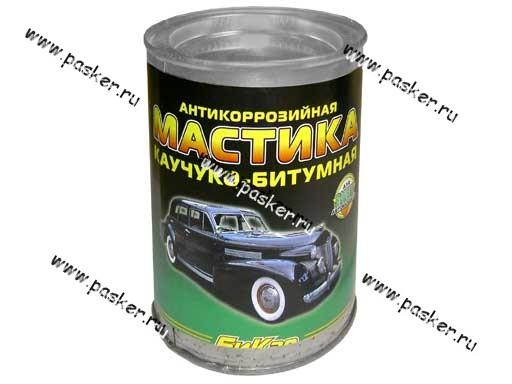 Антикоррозийная Мастика Бикар 1,1кг каучуко-битумная