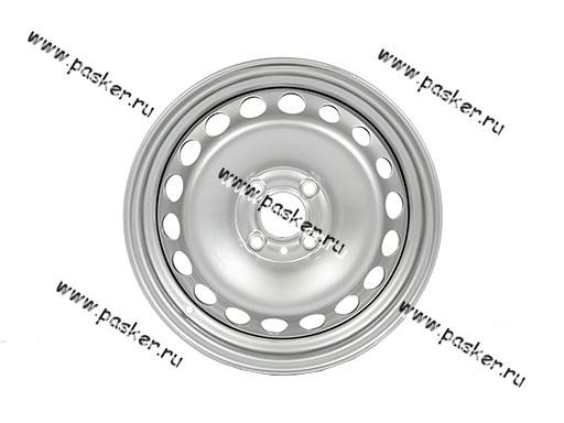 Диск колесный LADA Largus Vesta АвтоВАЗ 15H2/6J/4*100/ЕТ40/d60.1 черн грунт+серебр покрытие