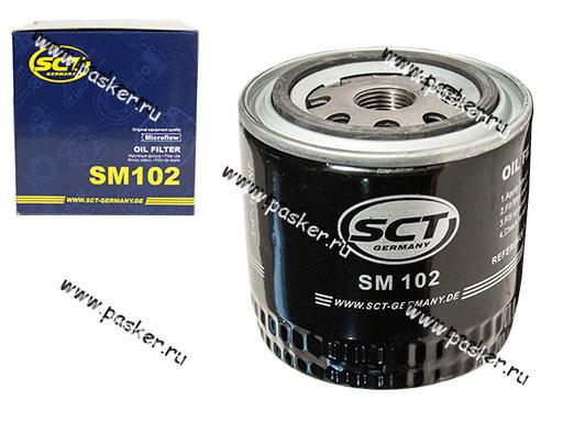 Фильтр масляный 2101-07 SCT SM102