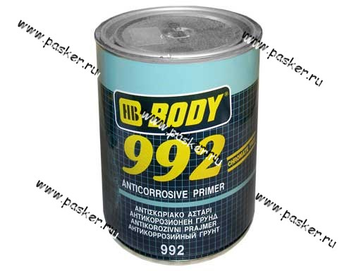Грунтовка Body 992 5л серая