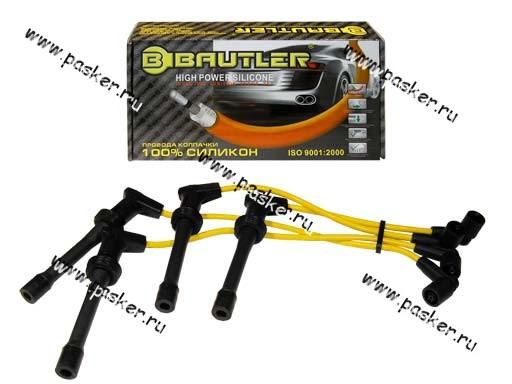 Провода свечные 2110-2112 BAUTLER силикон 7mm 16кл inj BTL-0011IW