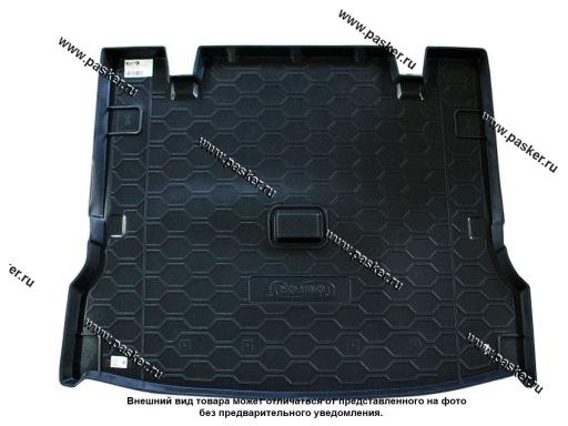 Коврик в багажник LADA Largus 5-ти 7-ми местная с 2012г пластик Comfort
