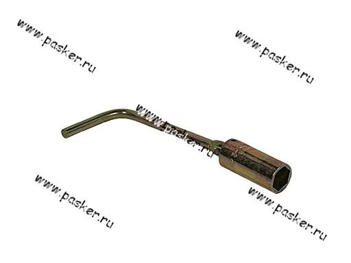 Ключ свечной 21мм с карданом 220мм АВТОМ 112210