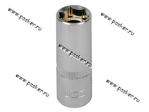 Ключ свечной головка 16мм 1/2 высокая с магнитом KRAFT 700801