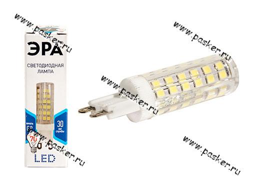 Лампа светодиодная ЭРА LED smd JCD-7w-842/840-G9 нейтр. свет