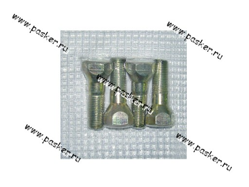 Болт колесный 12х1,25х32 кл 19 2101-099 на литые диски 4шт в упаковке