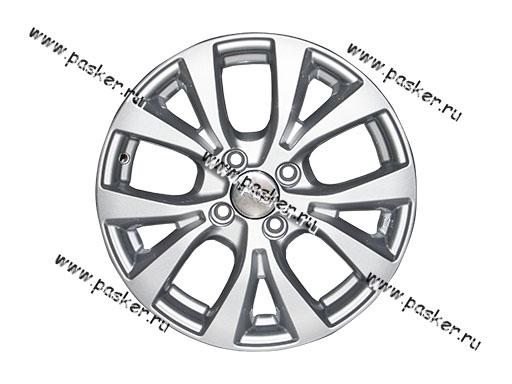 Диск колесный K&K 15/6.0J/4*100/ET48/d54.1 KC685 Hyundai Solaris FL сильвер
