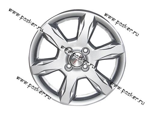 Диск колесный K&K 15/6.0J/4*100/ET50/d60.1 KC693 Nissan Almera G11 сильвер