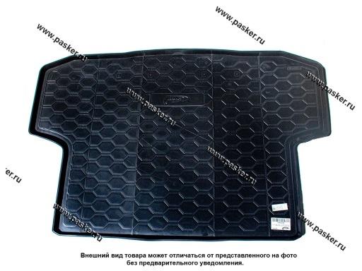Коврик в багажник Chevrolet Aveo 2 T250 T255 05- седан Ravon Nexia R3 16- пластик Comfort