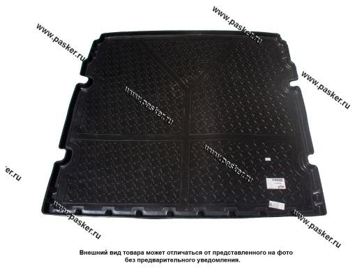 Коврик в багажник Chevrolet Orlando J309 10- 5-ти местный пластик Comfort