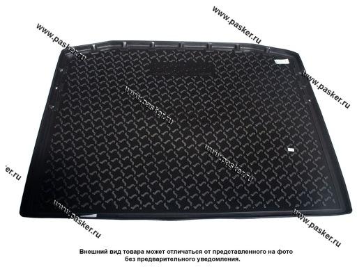 Коврик в багажник Citroen C4 Aircross 11- пластик Comfort