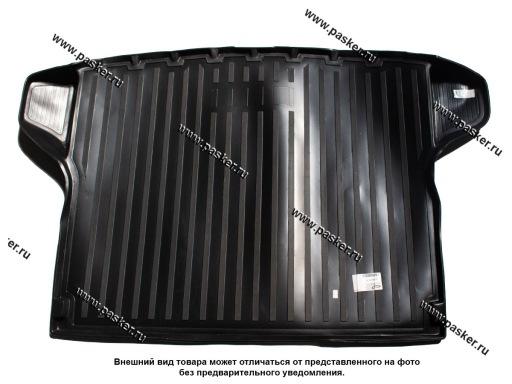 Коврик в багажник Hyundai Creta 15- пластик Comfort