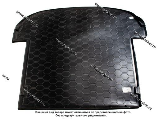 Коврик в багажник Hyundai Santa Fe 4 TM 18- 7-ми местный длинныйпластик Comfort
