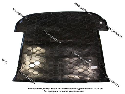 Коврик в багажник Kia Sorento 3 UM 14- пластик Comfort