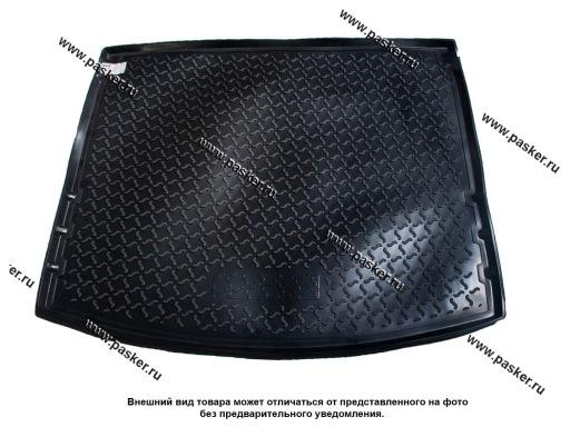 Коврик в багажник Mazda3 3 BM 13-19 хетчбек пластик Comfort