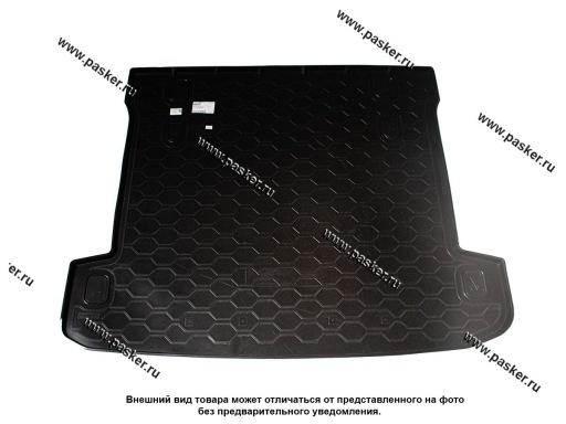 Коврик в багажник Mitsubishi Pajero 4 06- пластик Comfort