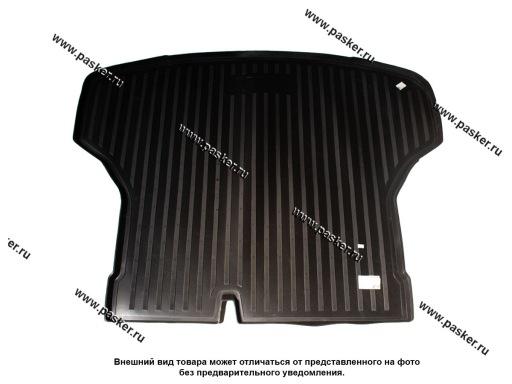 Коврик в багажник Nissan Sentra 5 B17 12- пластик Comfort