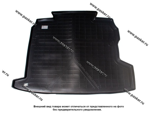 Коврик в багажник Opel Astra H 3 L69 07-14 седан пластик Comfort