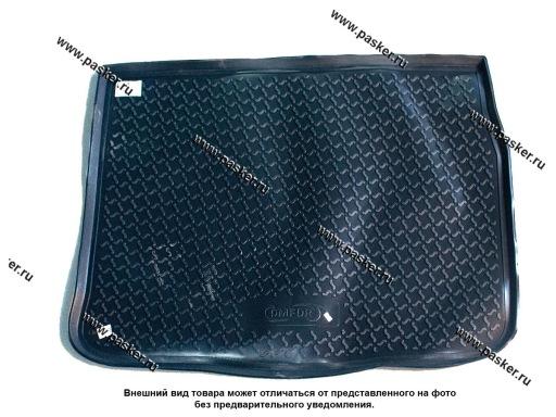 Коврик в багажник Renault Scenic 3 JZ0/1 09- пластик Comfort