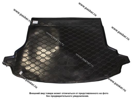 Коврик в багажник Subaru Forester 5 SK S14 18- без сабвуфера пластик Comfort